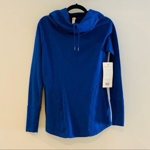 Lucy Hooded Workout Pullover